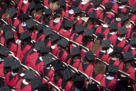 Harvard Mba Graduates by Commencement A Day In Pictures Harvard Gazette