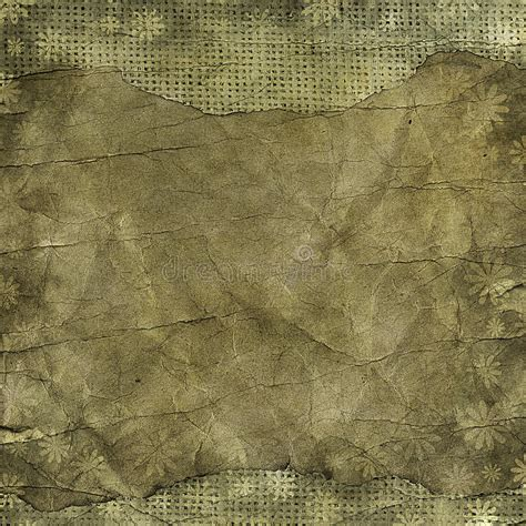 grunge floral parchment frame royalty free stock photos image 8762458 floral grunge frame on parchment paper with floral patt stock illustration