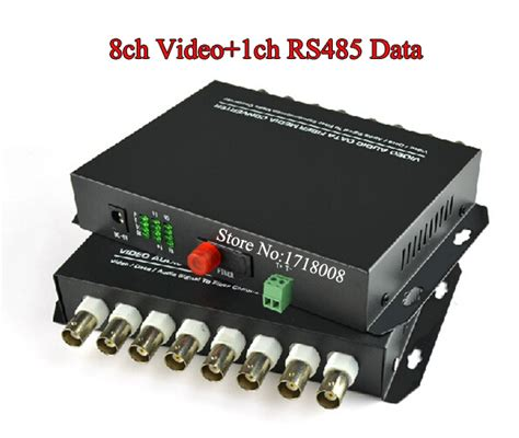 Fiber Optik Analog Cctv Media Converter 4 Channel aliexpress buy 8ch fiber media converter transmitter receiver for security cctv