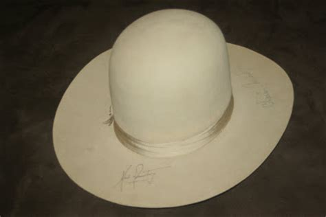 my space artifact collection: lbj stetson beaver 3x hat