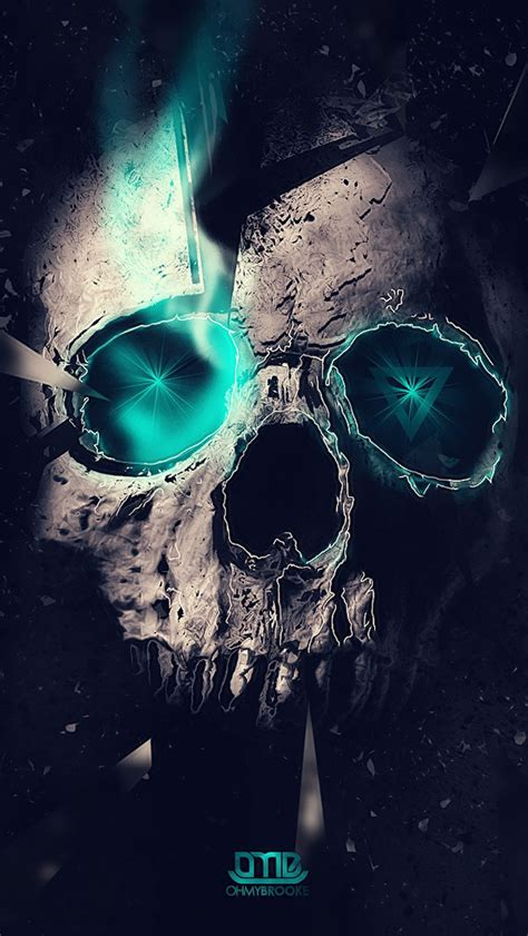 Hd Skull Iphone Wallpaper