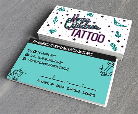 cart 227 o de visita business card megg quadros tattoo
