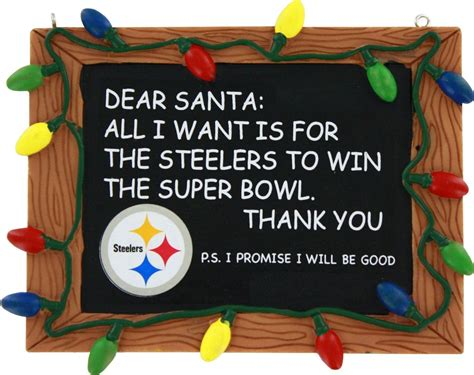 steelers christmas pics pittsburgh steelers chalkboard ornament