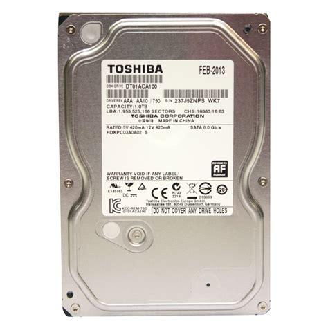 Toshiba 1tb Sata3 7200rpm toshiba dt01aca100 3 5 quot disco duro 1tb sata3 6 0gb s 32mb