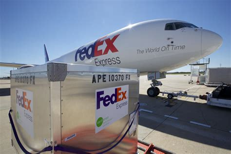 meet the new fedex efficient containers lighter design less fuel