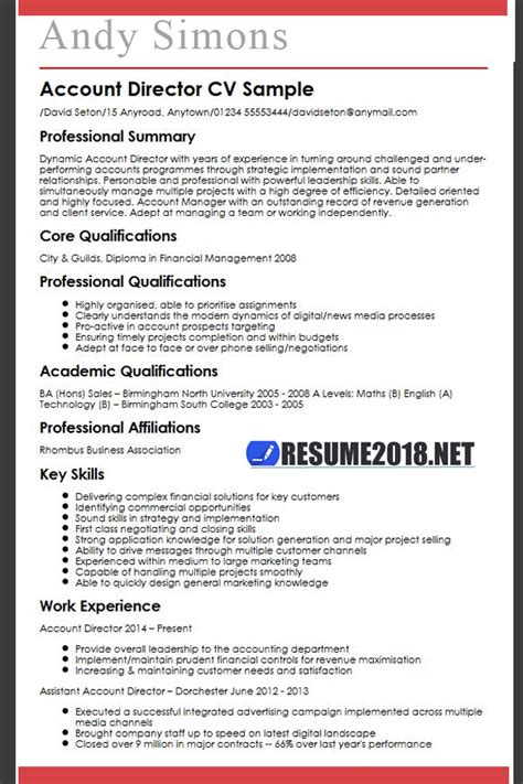 Resume Template Guide by Resume Template Guide For 2018 Gt Updates Resume 2018