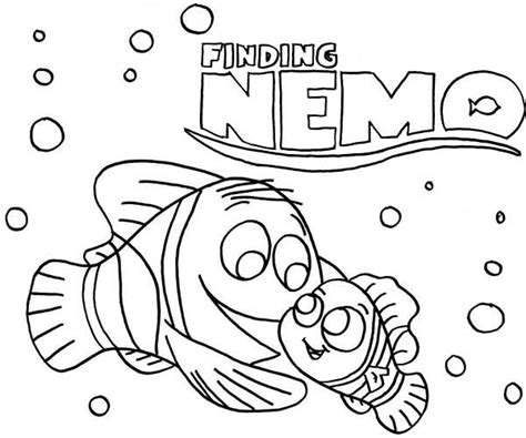 finding nemo coloring pages gianfreda net
