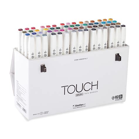 how many place settings buy shinhan touch twin brush marker set 60 b