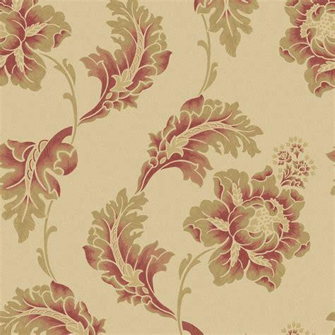gold wallpaper wilkinson opus florentina cranberry beige wallpaper deal at wilko
