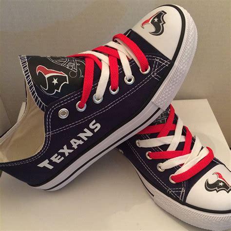nfl shoes for fans houston texans handmade converse houston texans converse