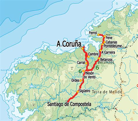 camino in inglese description dates and prices
