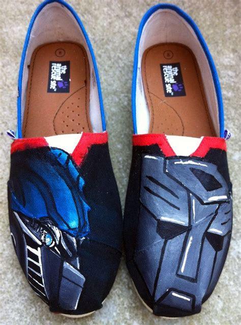 optimus prime slippers transformers optimus prime custom shoes