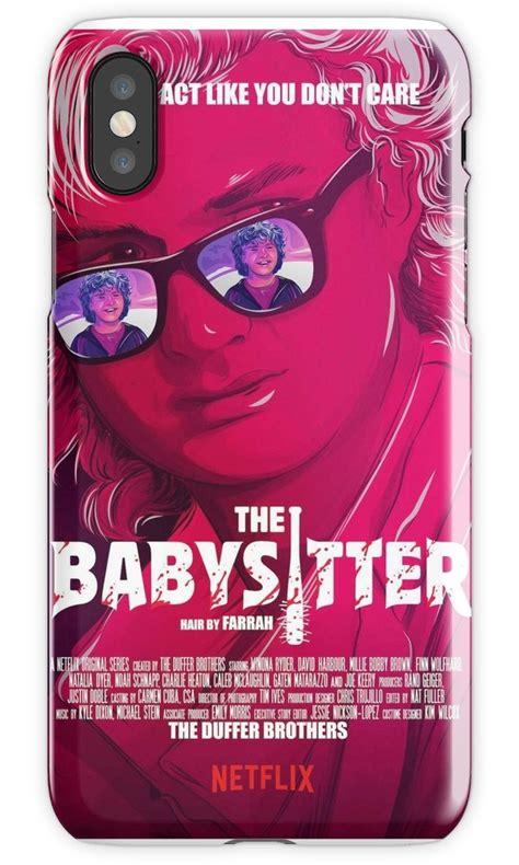 stranger  steve dustin  baby sitter