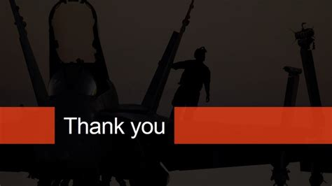 powerpoint presentation templates for thank you military theme thank you page for powerpoint slidemodel