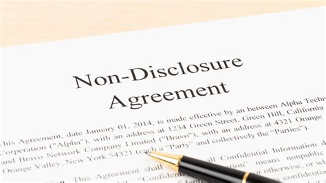 non disclosure agreement template ireland non disclosure agreement template ireland 6 non disclosure