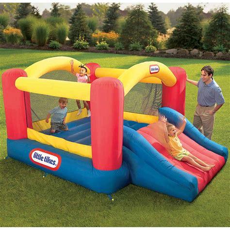 little tikes slide and swing combo sears little tikes jump n slide bouncer 179 99 saving
