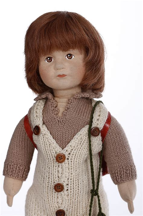 james cloth limited edition collectible doll  karin heller