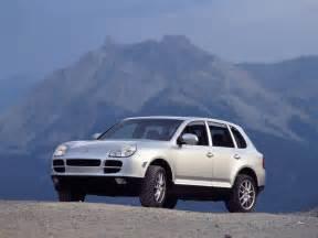 Porsche Cayenne 2003 2003 Porsche Cayenne S Front Angle Mountaintop 1024x768