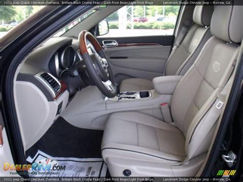 beige jeep grand cherokee dark frost beige light frost beige interior 2011 jeep