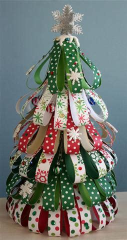 3d paper christmas tree with ribbon minist 233 infantil decora 199 195 o de natal reciclagem