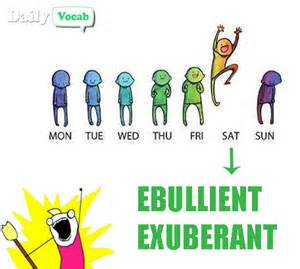 Ebullient or exuberant meaning in hindi with picture via relatably