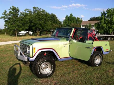 light green jeep buy used 1973 custom jeep commando light green with