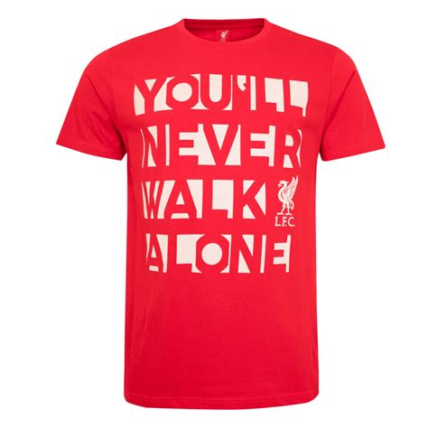T Shirt Liverpool Big lfc mens you ll never walk alone liverpool fc official store