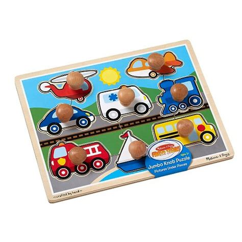 And Doug Jumbo Knob Puzzle by Doug Vehicles Jumbo Knob Puzzle Target