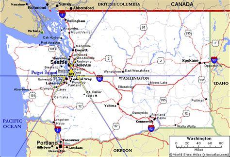 seattle map kent washington state map kent