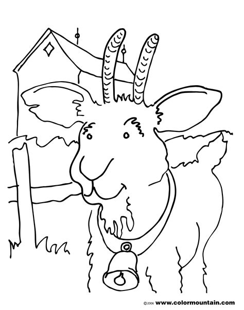 goat mask coloring page pin goat mask colouring pages on pinterest