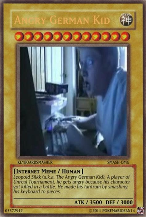 Meme Card Generator - agk yu gi oh card by pokemariofan14 on deviantart