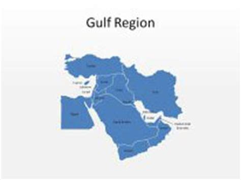 Gcc Countries Map Outline by High Quality Royalty Free Gulf Region Powerpoint Map Shapes For Powerpoint From