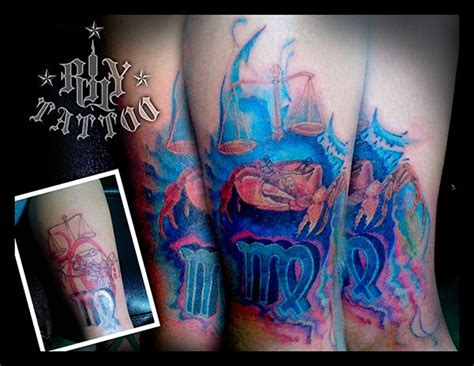 Zodiac Tattoo Cover Up | pin by rhyan abud on rhy tattoo worx pinterest