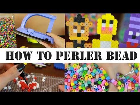 how to iron perler perfectly diy perler bead social media magnets snapchat insta