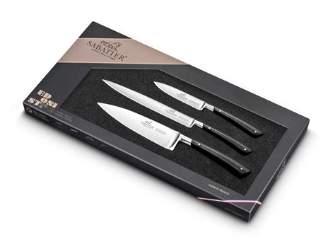 sabatier 3 piece kitchen knife set proven 231 ao series sabatier edonist series 3 piece kitchen knife set