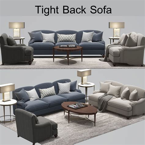 tight back sofas furniture sherrill living room tight