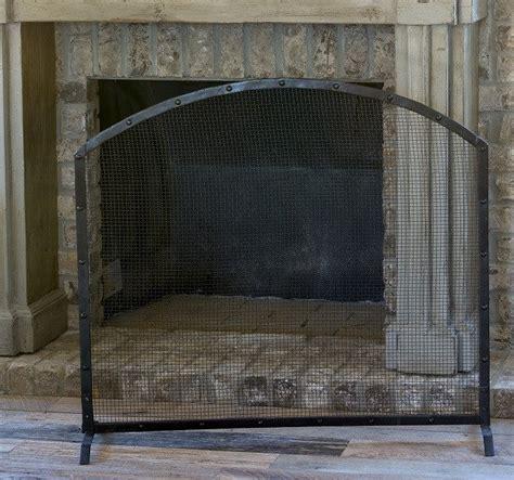 fireplace decorative screen metal fireplace screens rustic fireplace screens