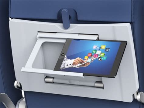 Airplane Tray Table by This New Airline Seat Back Tray Could Change Flying Forever