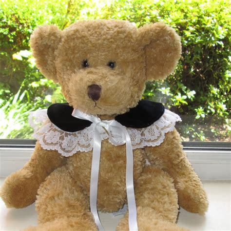 Handmade Teddy Bears From Clothes - teddy clothes handmade vintage style velvet lace