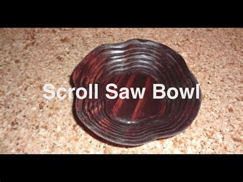scroll  spiral wooden bowl youtube