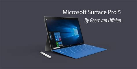 Microsoft Surface 5 Microsoft Surface Pro 5 Animation