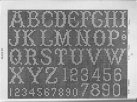 filet crochet name pattern generator name filet crochet pattern easy crochet patterns