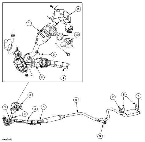 2001 ford taurus exhaust system diagram saturn o2 sensor bank 1 location get free image about