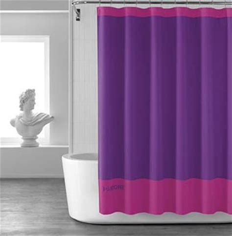 pantone shower curtain purple shower curtains decor by color