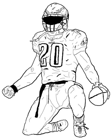 Drawing 2 Player by Football Player Atbonner