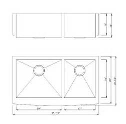 Kitchen sink standard sizes kitchen design photos