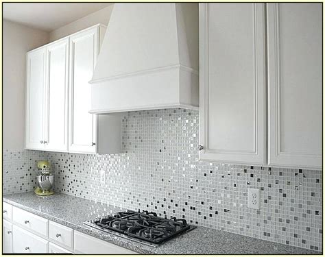 kitchen glass tiles backsplash white glass mosaic tile