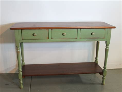 Country Style Sofa Table by Farmhouse Console Tables