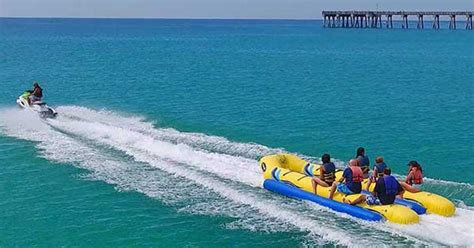 banana boat ride safe banana boat rides fun in panama city beach