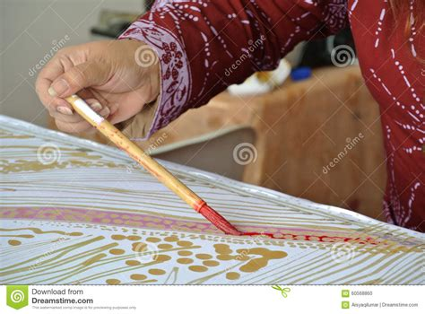 Batik Tulis Batik Tulis malaysia traditional batik canting or batik tulis stock illustration image 60568860
